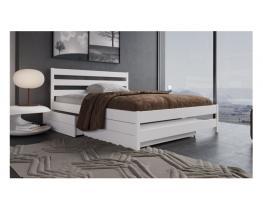 Кровать двуспальная Волжанка Фэмили массив березы