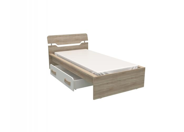 Кровать с ящиком СБК Чемпион