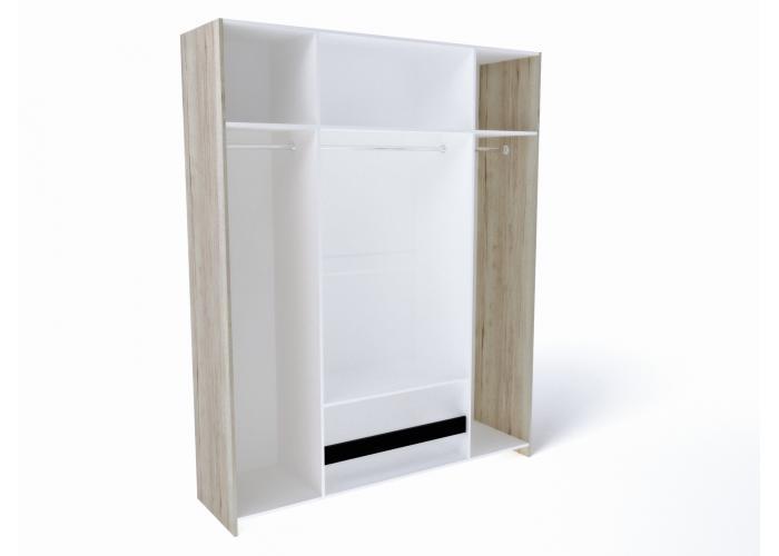 Шкаф 4-х дверный СБК Мале