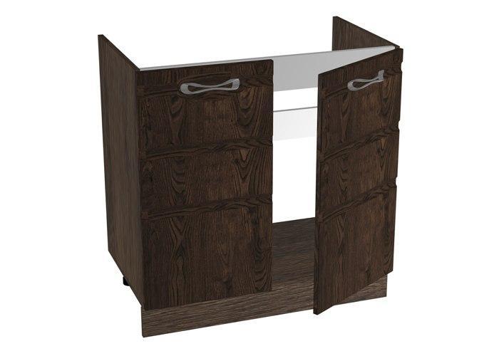 Стол под мойку 2-х дверный СБК Астана СМ-80