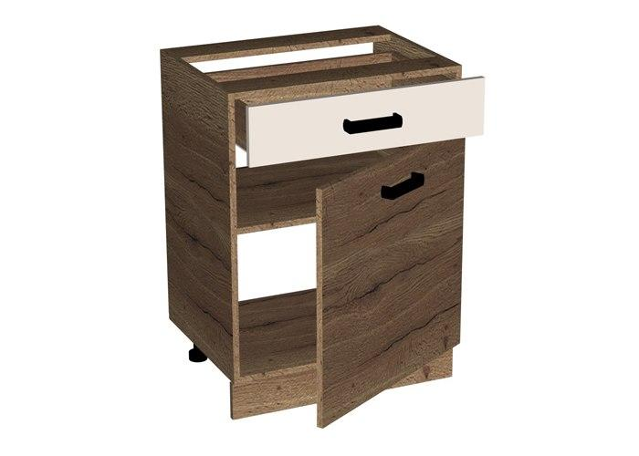 Стол с ящиком и дверью СБК Адель СЯД-60