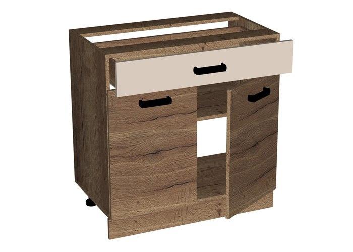 Стол с ящиком и дверью СБК Адель СЯД-80