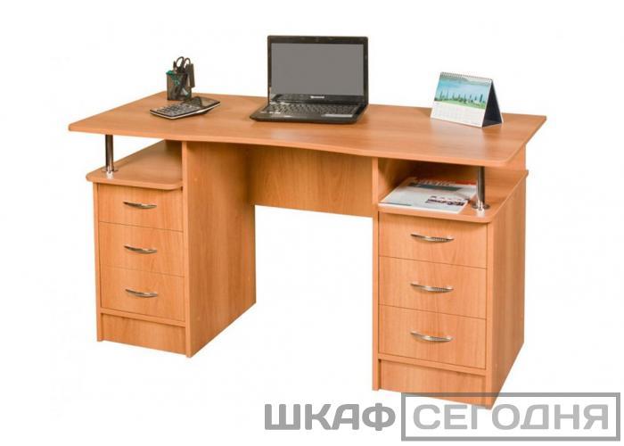 Письменный стол Ромис 2-х тумбовый СП-4