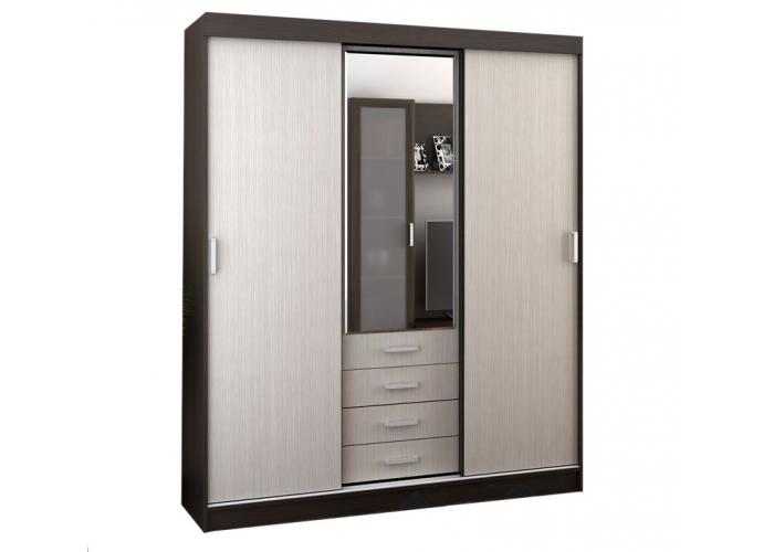 Шкаф-купе Стендмебель ЛИДЕР-3