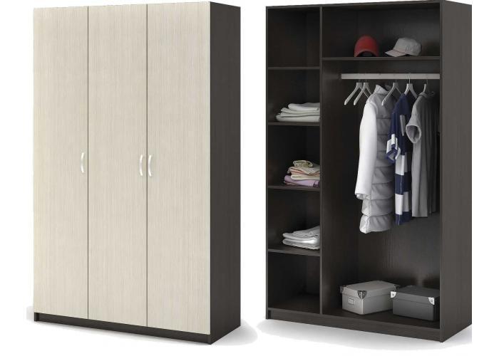 Шкаф 3-х дверный Стендмебель Бася ШК 557