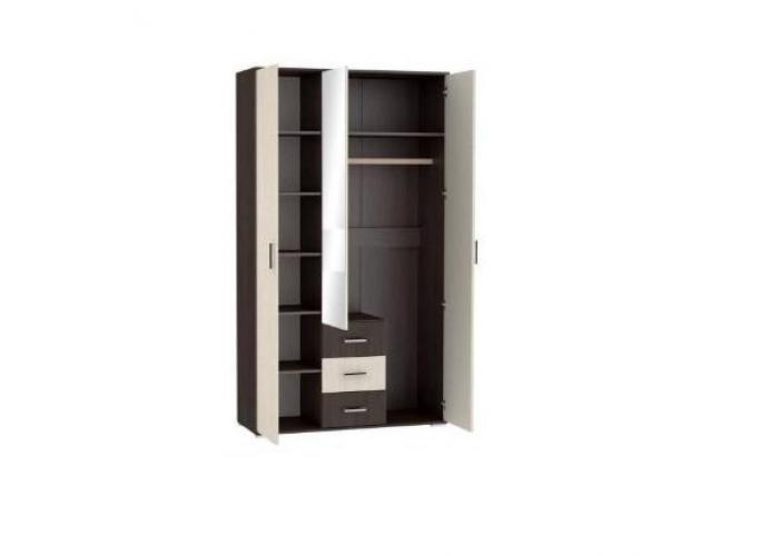 Шкаф 3-х дверный Стендмебель Яна ШК 752