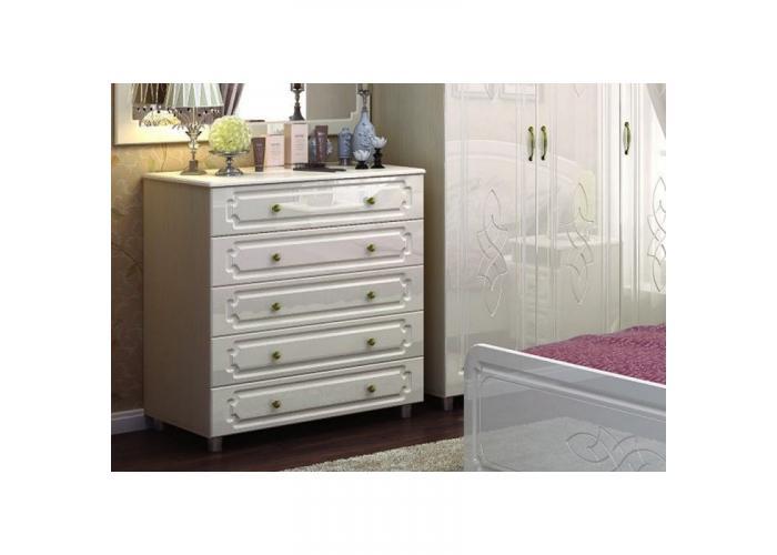 Комод 5 ящиков Стендмебель Виктория КМ 912