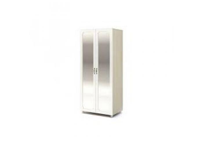 Шкаф со скалкой и зеркалом Стендмебель Виктория ШК 914