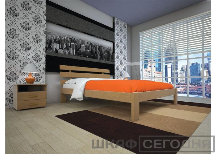 Двуспальная кровать Тис Домино 160