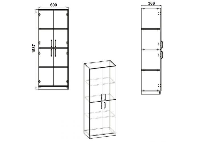 Шкаф Победа КШ-12