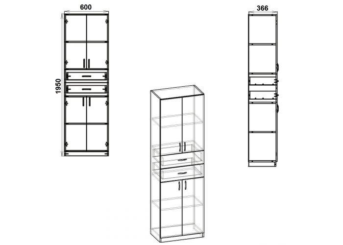 Шкаф Победа КШ-11